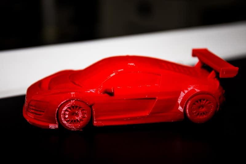 Coche impreso en 3D