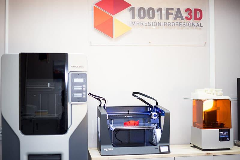 Impresión 3D profesional en Madrid