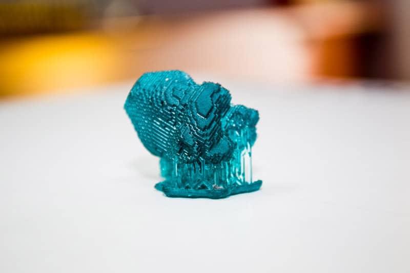 Pieza impresa en 3D